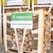 1.2m3 Half Crate Hardwood Logs
