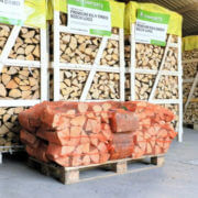 20 Nets Of Kiln Dried Hardwood Logs