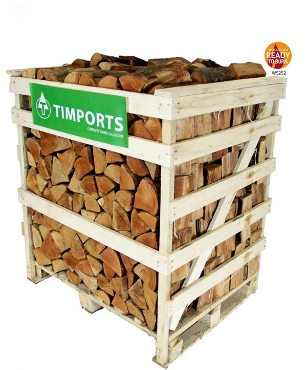 Half Crate Logs -Pallet Crate Kiln Dried Firewood