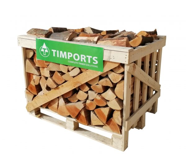 Kiln dried logs for sale in our 0.80m Crate