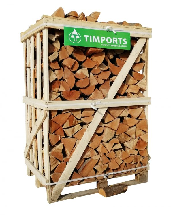 Large 1.6m3 Crate of Logs For Log Burners