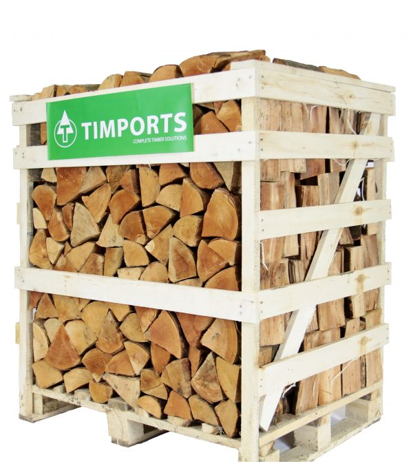 Half Crate Kiln Dried Logs 1.2m