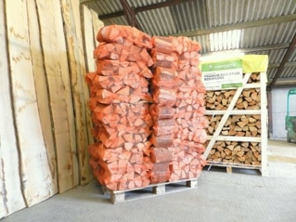 Kiln Dried Hardwood Logs 70 Nets Beech