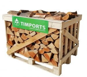 Kiln Dried Beech Logs 0.80m Crate of Logs