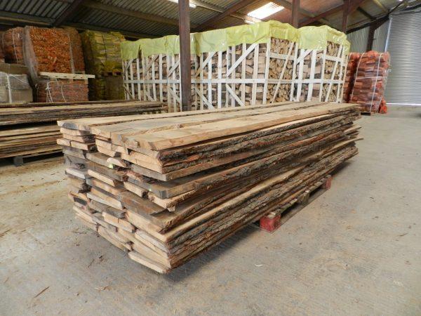Waney Edge Oak Boards For sale
