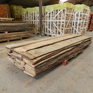 Oak Boards Un Edged 27mm