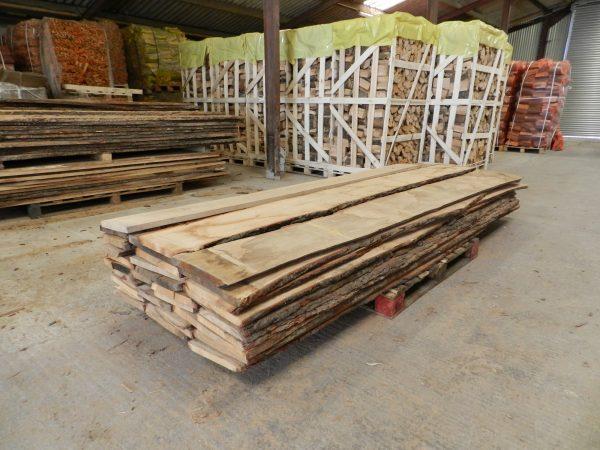 Oak Boards Un Edged 27mm