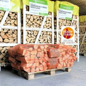 Buy Kiln Dried Hardwood Beech Logs 20 Nets