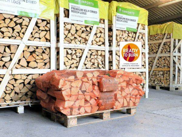 Buy Kiln Dried Hardwood Beech Logs 20 Nets