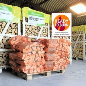 30 Nets Of Kiln Dried Logs