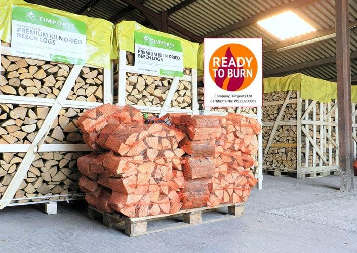 30 Nets Of Kiln Dried Logs