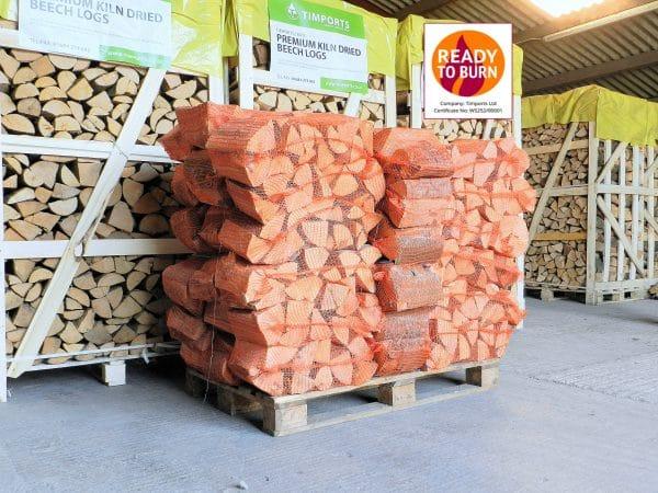 Kiln Dried Hardwood Logs Beech
