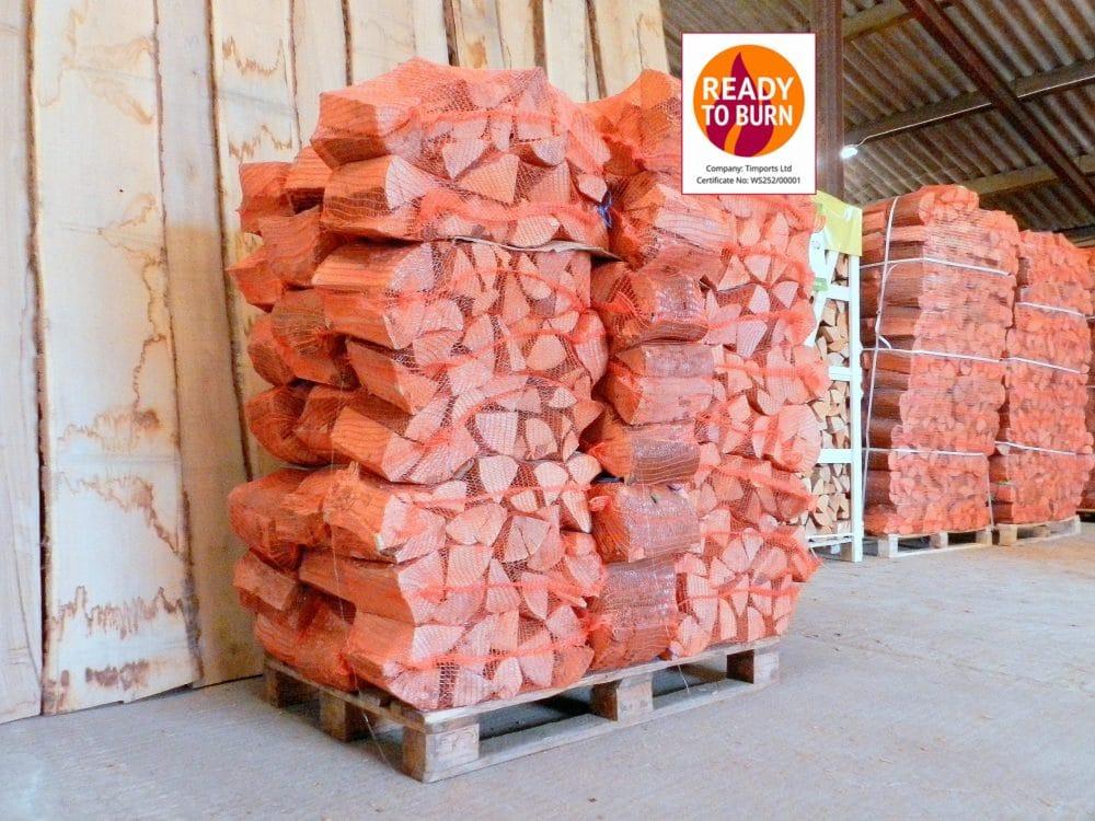 Kiln Dried Hardwood Logs 50 Nets Beech